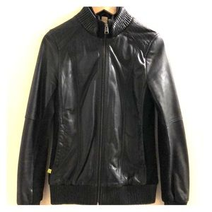 Soia & Kyo leather bomber jacket